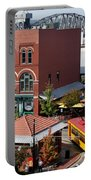 River Market In Little Rock Arizona Portable Battery Charger