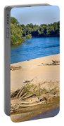River Of Drava Green Nature Portable Battery Charger