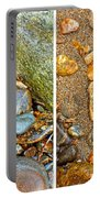 River Rocks 9 In Stereo Portable Battery Charger