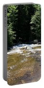 River Running Over Rocks Portable Battery Charger
