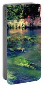 River Sile In Treviso Italy Portable Battery Charger