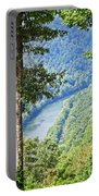 River Thru The Trees Portable Battery Charger