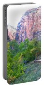 River Walk In Zion Canyon In Zion Np-ut Portable Battery Charger