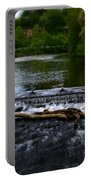 River Wye - In Peak District - England Portable Battery Charger