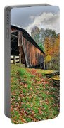 Riverdale Road Covered Bridge Portable Battery Charger