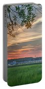 Rivertown Sunset Portable Battery Charger