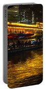 Riverwalk Night Life Portable Battery Charger