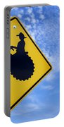 Road Sign Tractor Crossing Portable Battery Charger