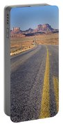 Road Through Monument Valley, Utah Portable Battery Charger