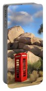 Phone Booth In Joshua Tree Portable Battery Charger