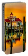 Roanoke Lighthouse Dawn Portable Battery Charger