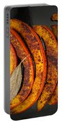 Roasted Pumpkin Slices Portable Battery Charger
