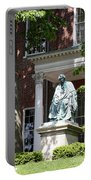 Robert Brooke Taney Statue - Maryland State House  Portable Battery Charger