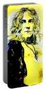 Robert Plant Of Led Zeppelin   Portable Battery Charger