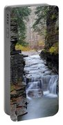 Robert Treman State Park Portable Battery Charger by Frozen in Time Fine Art Photography