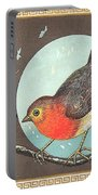 Robin Cigar Label Portable Battery Charger