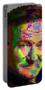 Robin Williams - Abstract Portable Battery Charger