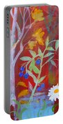 Robin's Blueberry Daisy Sunshiny Day Portable Battery Charger