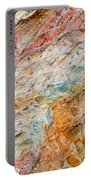 Rock Abstract #2 Portable Battery Charger