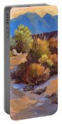 Rock Cairn At La Quinta Cove Portable Battery Charger