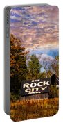 Rock City Barn Portable Battery Charger by Debra and Dave Vanderlaan