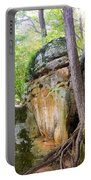 Rock Formation Wildcat Den State Park Portable Battery Charger