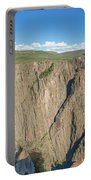 Rock Formations In Black Canyon Portable Battery Charger