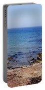 Rock Formations On The Beach, Marcona Portable Battery Charger