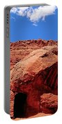 Rock House In Arizona Portable Battery Charger