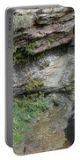 Rock Mill Water Fall In Ohio Portable Battery Charger
