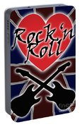 Rock N Roll Union Jack Portable Battery Charger