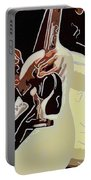 Rockabilly Electric Guitar Player  Portable Battery Charger by Tommytechno Sweden