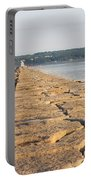 Rockland Breakwater Lighthouse Coast Of Maine Portable Battery Charger
