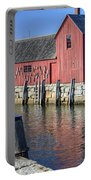 Rockport Fishing Village Portable Battery Charger