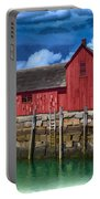 Rockports Motif Number 1 Painting Portable Battery Charger