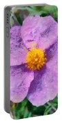 Rockrose Wild Flower Portable Battery Charger