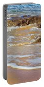 Rocks And Waves Portable Battery Charger