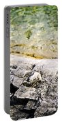 Rocks At Georgian Bay Portable Battery Charger