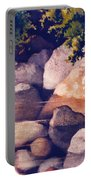 Rocks In Stream Portable Battery Charger