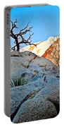 Rocks In Sun And Shade Along Barker Dam Trail In Joshua Tree Np-ca- Portable Battery Charger