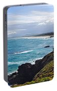 Rocks Ocean Surf And Sun Portable Battery Charger