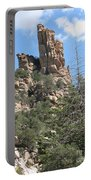 Rocks Reaching To The Sky Portable Battery Charger
