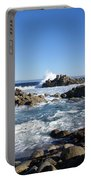 Rocky Beach On 17 Mile Drive Portable Battery Charger