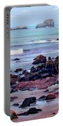 Rocky Coast Off San Simeon Portable Battery Charger
