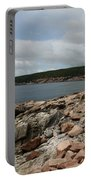 Rocky Coastline Acardia Park Portable Battery Charger