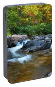 Rocky Creek Above Rocky Falls 1 Portable Battery Charger