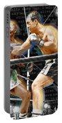 Rocky Marciano V Jersey Joe Walcott Quotes Portable Battery Charger