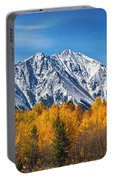 Rocky Mountain Autumn High Portable Battery Charger