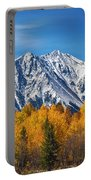 Rocky Mountain Autumn High Portable Battery Charger by James BO  Insogna