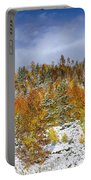 Rocky Mountain Autumn Storm Portable Battery Charger